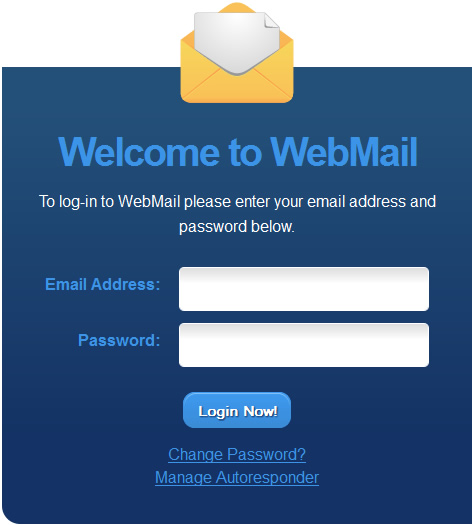 Logging into Webmail…